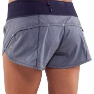 Lululemon Speed Shorts Denim/Navy